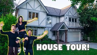 Our NEW HOUSE Tour! *EXCLUSIVE LOOK*