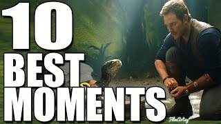 Jurassic World: Fallen Kingdom - Top 10 Best Moments | Chris Pratt 2018