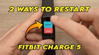 How to Restart Fiтbit Charge 5 (2 ways)