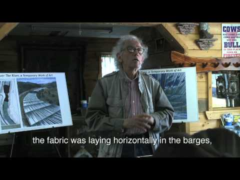 Origin of Christo and Jeanne-Claude's Over The River