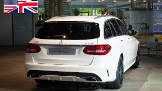 World premiere of the new 2014 Mercedes-Benz C-Class Estate Station Wagon (S205) in Bremen