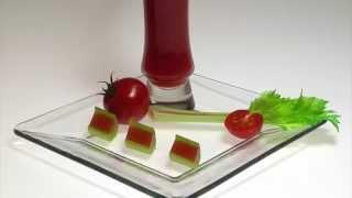 Molecular Gastronomy - Crunchy Bloody Mary