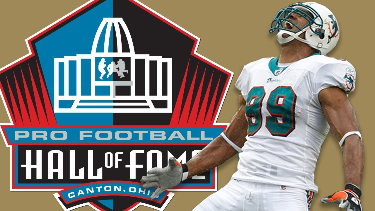 ae215c392 Jason Taylor s Hall of Fame Highlight Reel  Most Career TD s by a Defensive  Linemen