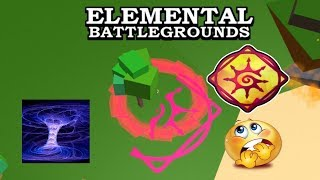 [NEW ELEMENTS!] CHAOS Element Demonstrate (Showcase) | Roblox Elemental Battleground