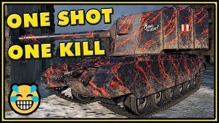 One Shot, One Kill - FV4005 Stage II - World of Tanks Gameplay