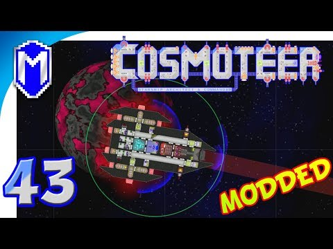 Cosmoteer - The Incredible Power Of Photon Torpedoes - Let's Play Cosmoteer Abh Mod Gameplay Ep 43