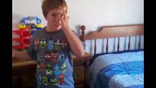 8 year old low functioning autistic boy