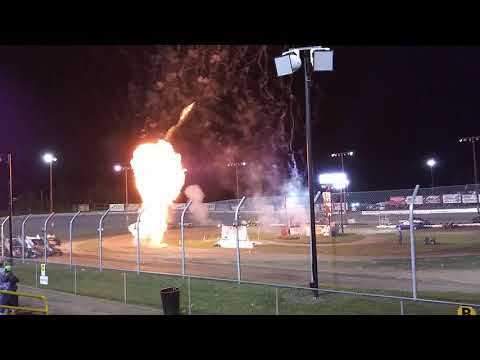 Sprint nationals at eagle raceway 2019. - dirt track racing video image
