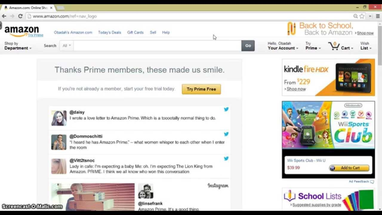 how to unsubscribe on amazon prime