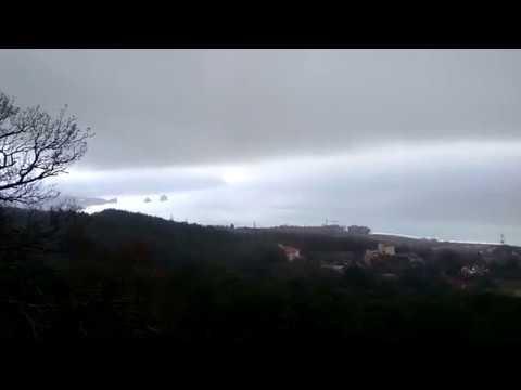Гурзуф заливает дождь второй день!!!!!!!!!!! Потоп. Прогулки по Гурзуфу. Скалы Адалары.