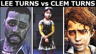 Lee Turns vs Clementine Turns - The Walking Dead Final Season 4 Episode 4: Take Us Back