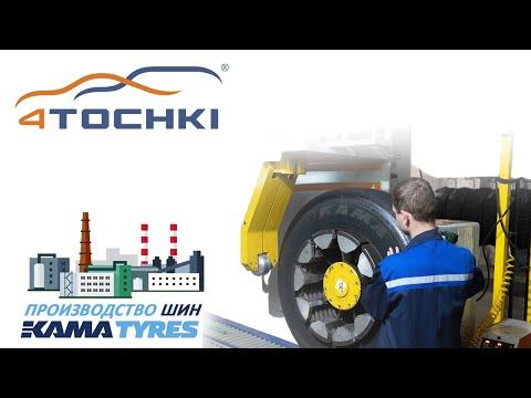 Производство шин KAMA TYRES