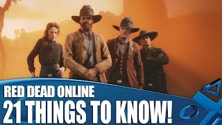 Red Dead Online - 21 Things We Wish We Knew Before We Played