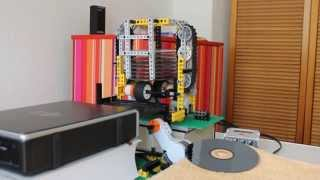Download Lego CD/DVD changer robot Mp3 and Videos