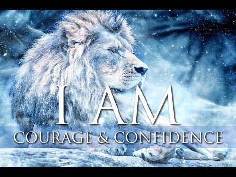 I AM Affirmations ➤ Courage, Confidence, Inner Strength & Self Love | Solfeggio 852 Hz & 963 Hz