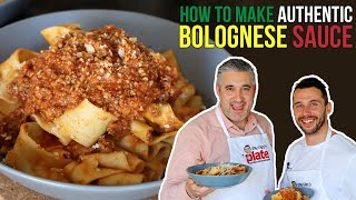 How to Make AUTHENTIC BOLOGNESE SAUCE Like a Nonna from Bologna