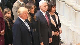 President Trump & family attends National prayer service
