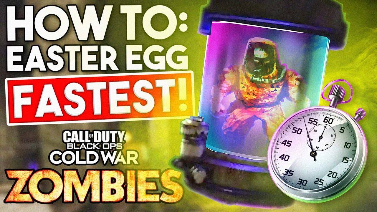 Cold War Zombies - *Fastest/Easiest* 'Die Maschine' EASTER EGG GUIDE!