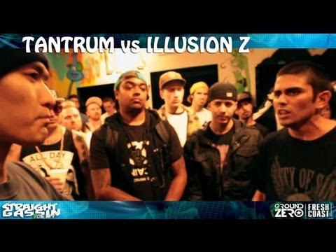 KOTD - Rap Battle -  Tantrum vs Illusion Z
