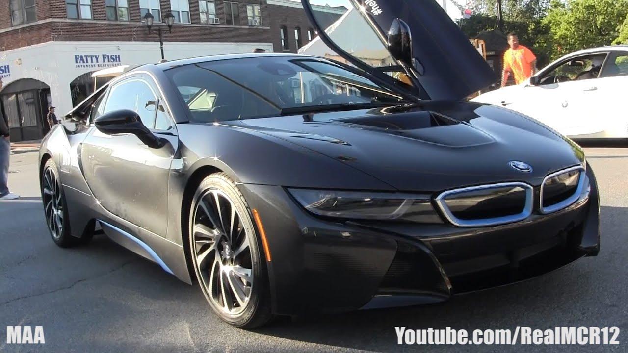 Bmw I8 Gold >> BMW i8 Walkaround - Gold Coast Concours - YouTube