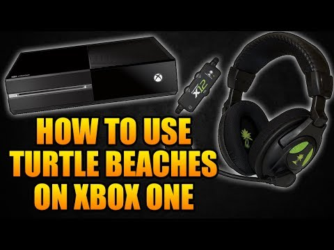 How to Use Turtle Beach X12 Headset On Xbox One - How to Use Turtle Beaches On Xbox One