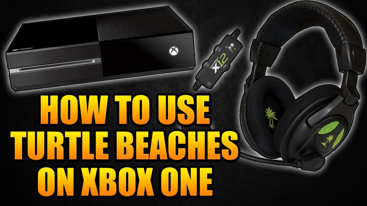 hight resolution of how to use turtle beach x12 headset on xbox one how to use turtle beaches on xbox one youtube