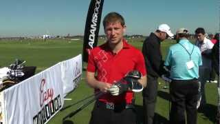 Adams Golf Speedline Super S Range First Hits - 2013 Pga Merchandise Show - Today's Golfer