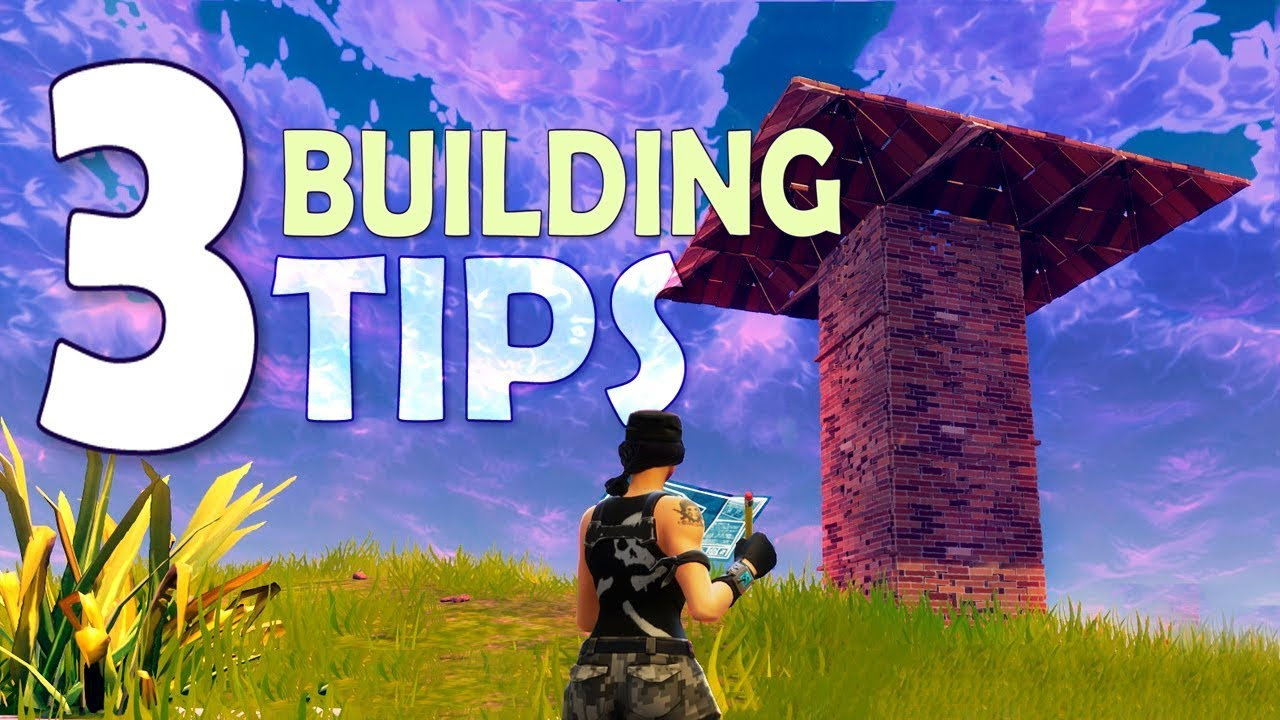 Fortnite tips and tricks by a pro advanced building to for Construction tips and tricks