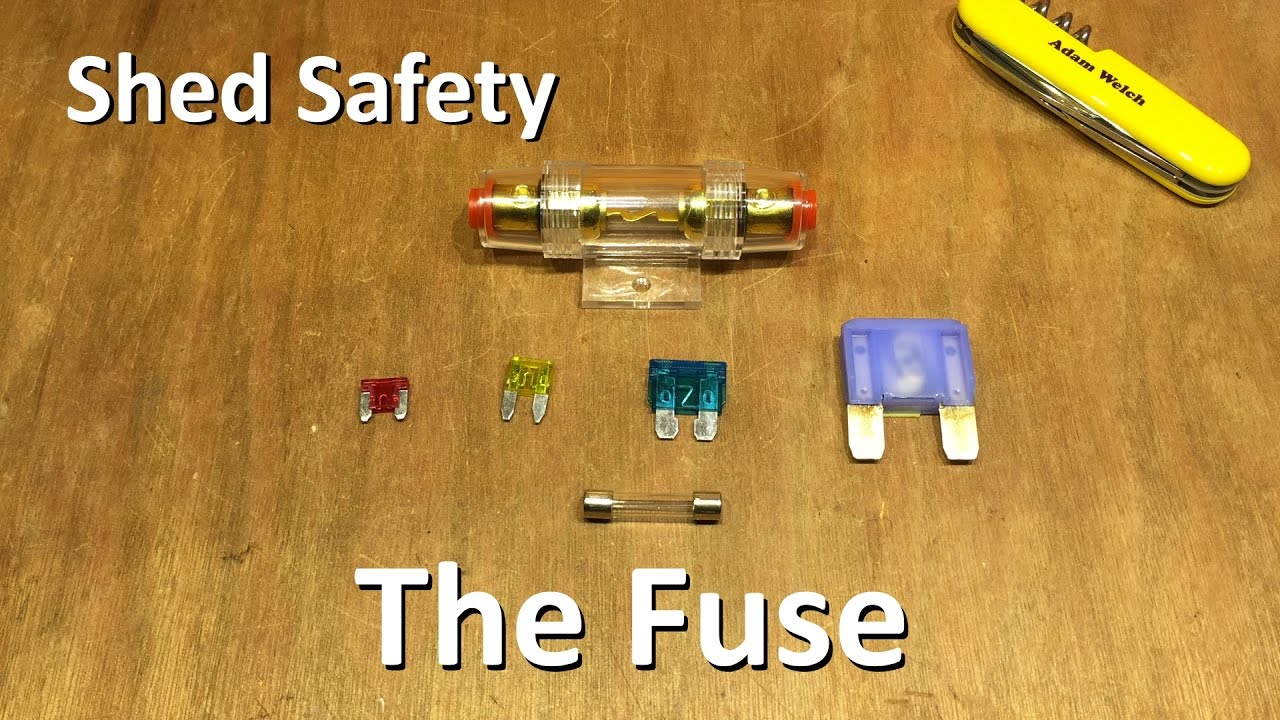 Fuses Solar Safety Part 1 12v Shed Youtube Fuse Box