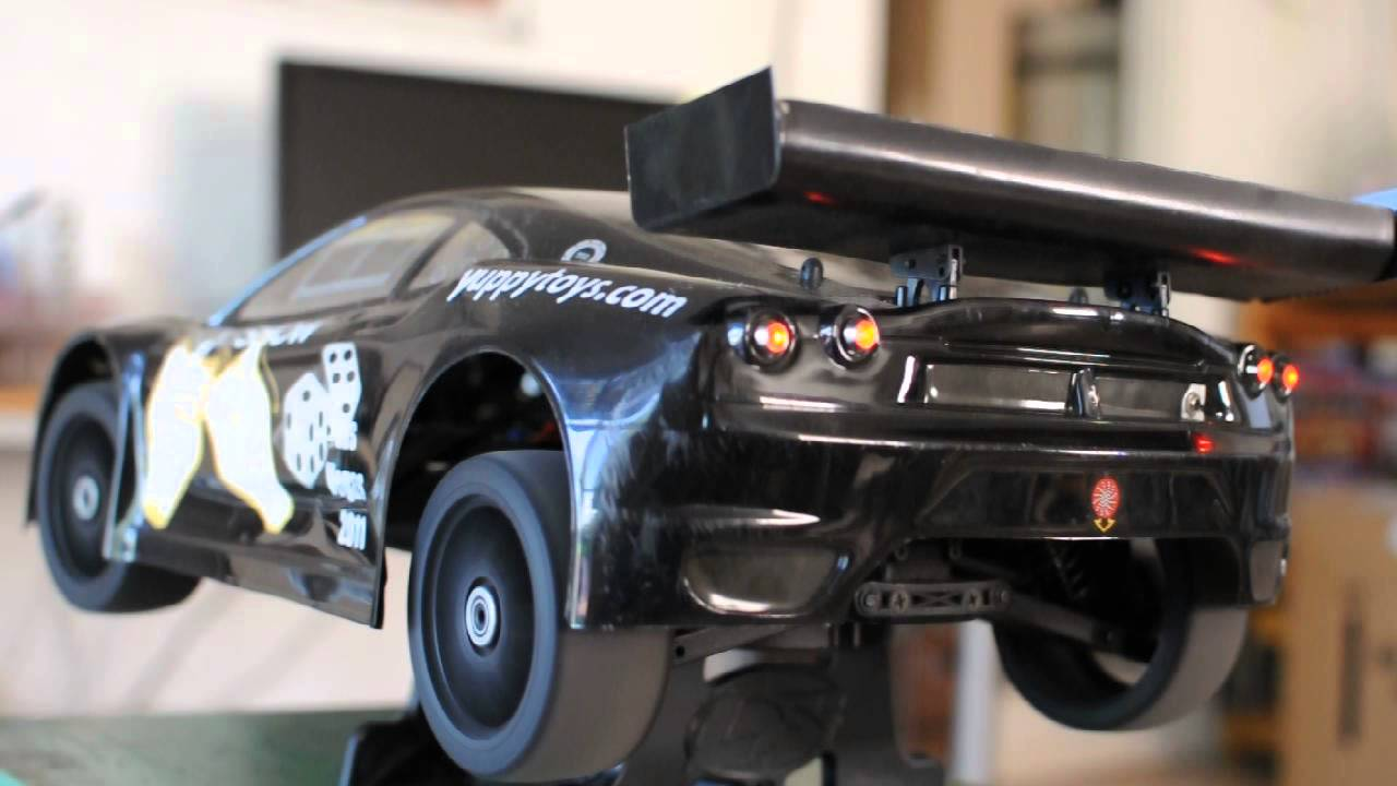 Kyosho Inferno GT with Associated ESS Sound Module