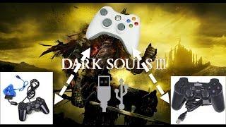 Jugar Dark souls 3/2/1 en PC con joystick genérico/mando PS2 por USB [facil] 3 formas