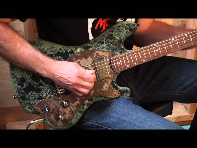 M-tone® Guitars - Green Paisley Dynamo