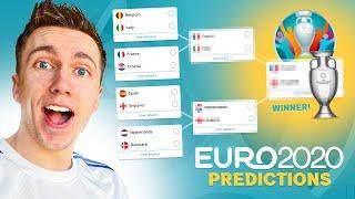 My Euro 2020 Prediction.