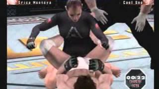 UFC Sudden Impact ps2 Gameplay