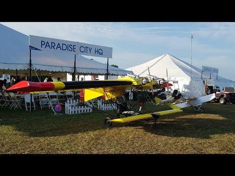 Sun N Fun Convention Video Tour, Paradise City, Lakeland Florida 2019