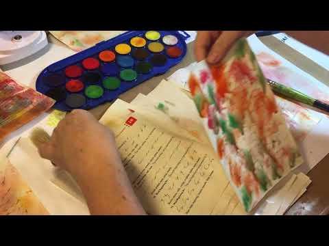 Tutorial-Creating Watercolor Papers