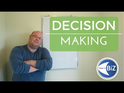A level Business Revision - Decision Making