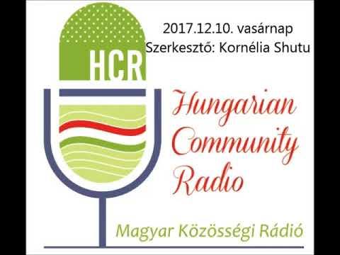 Magyar Kozossegi Radio Adelaide 20171210 Shutu Kornélia
