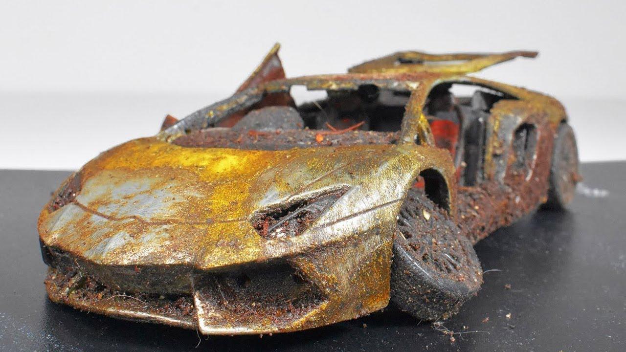 Download Restoration Abandoned Lamborghini Aventador Model Car