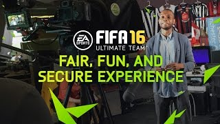 FIFA 16 Ultimate Team - Fair, Fun, and Secure