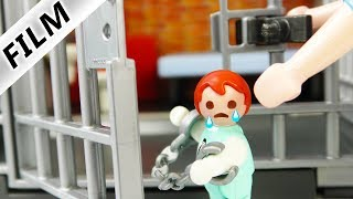 Playmobil Film deutsch EMMA SITZT IM KNAST - Kommt sie aus Gefängnis frei? Kinderfilm Familie Vogel