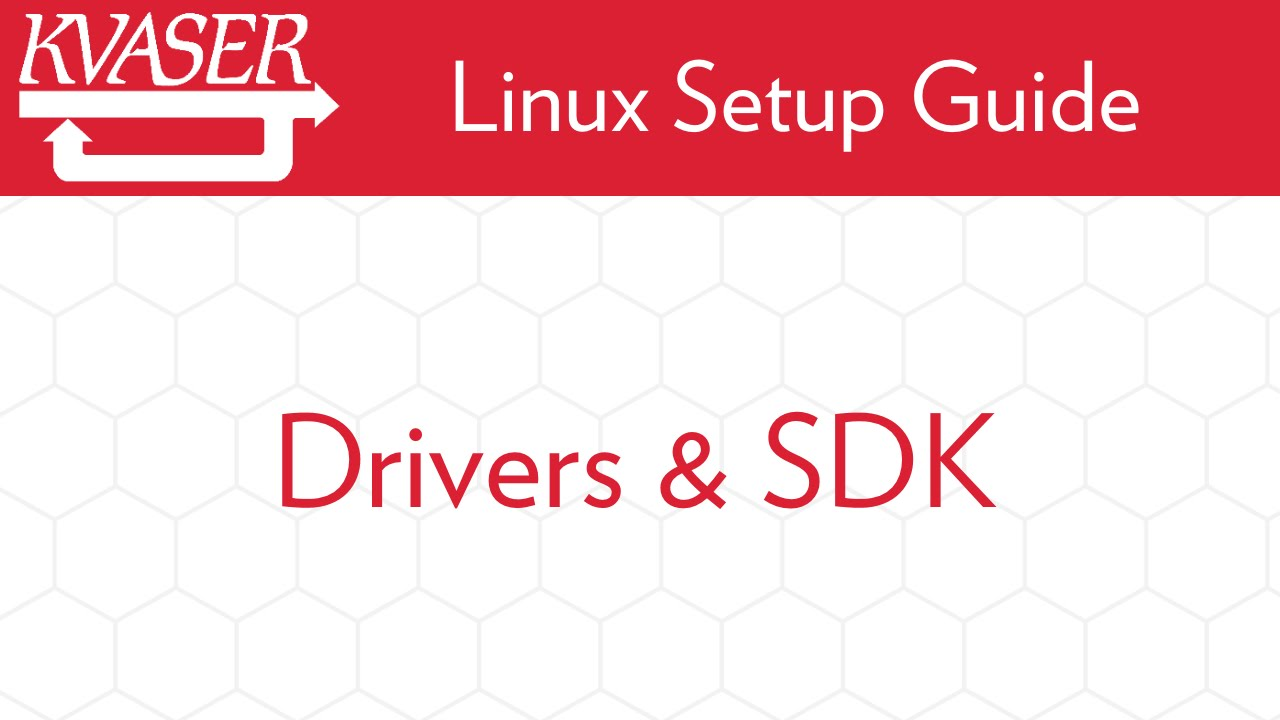 Linux Drivers and SDK