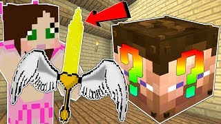 Minecraft: DREAM LUCKY BLOCK!!! (WEAPONS & ITEMS FROM YOUR DREAMS!) Mod Showcase