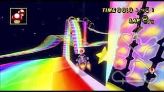 [Mario Kart Wii 300cc TAS] DS Rainbow Road 1:12.173