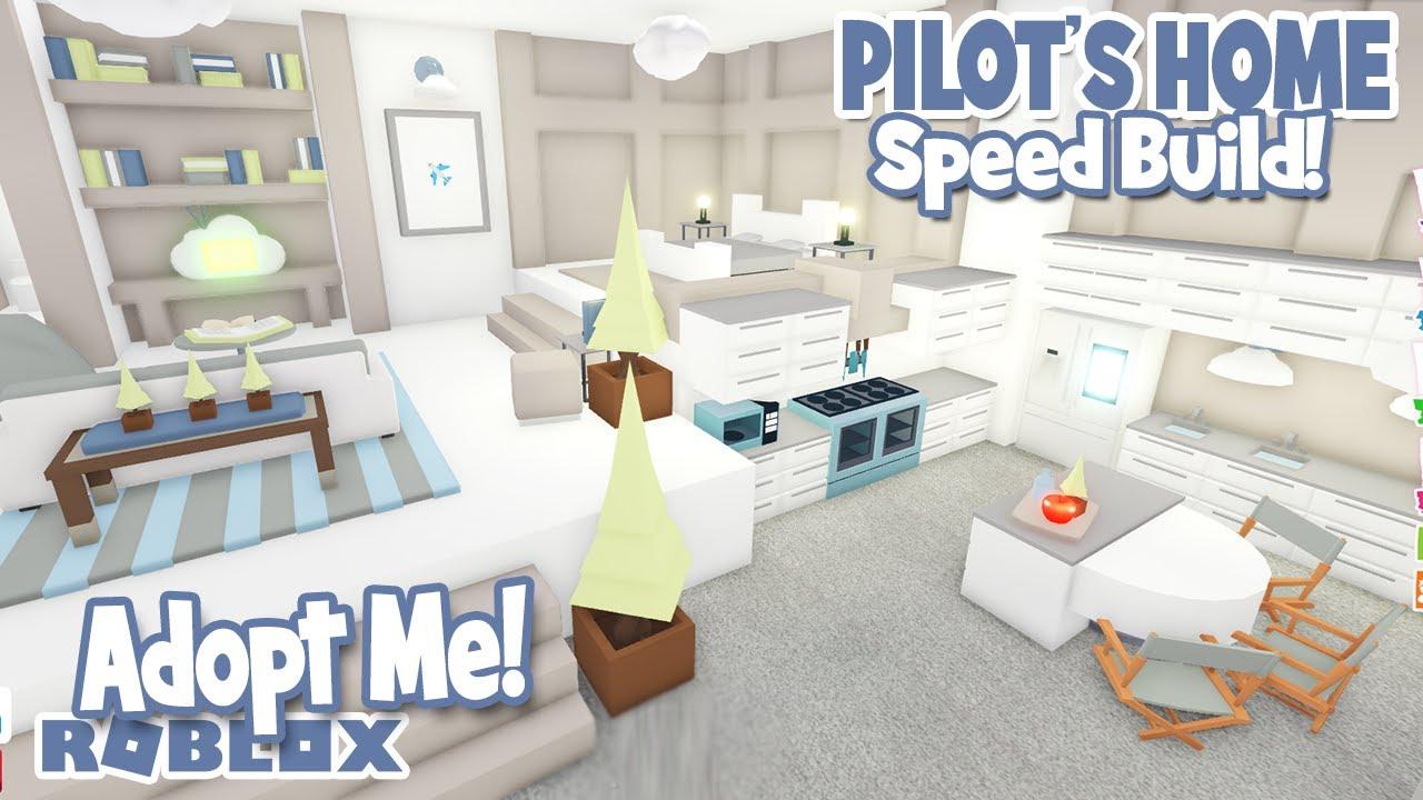 ✈️PILOT'S LOFT✈️ *TREEHOUSE* Speed Build in ADOPT ME (roblox)