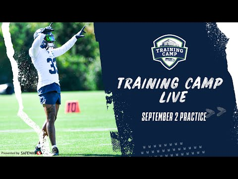 September 2nd Practice of 2020 Seahawks Training Camp