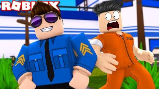 POLICE AGAINST ROBBERS! -ROBLOX Prison Tycoon Danish with ComKean