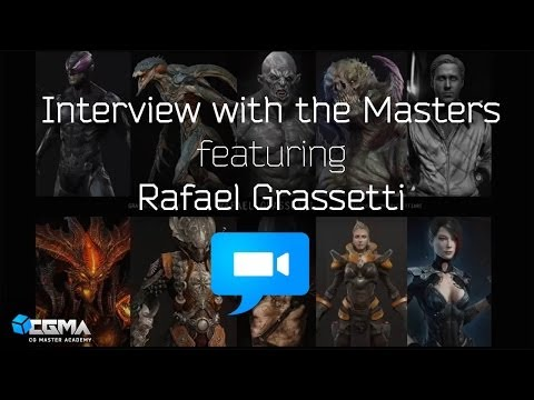 3D Interview w/ the Masters - feat. Rafael Grassetti