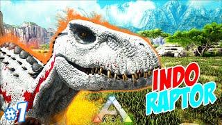 THE INDORAPTOR !! ARK Pandora - Myterious Indonesia #1