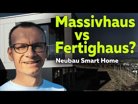 Massivhaus vs Fertighaus:
